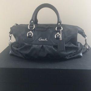 Coach Ashley Signature Sateen Satchel handbag